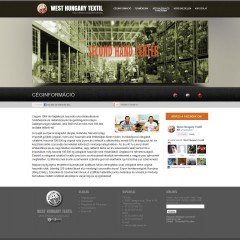 whuntex.hu weboldal készítés