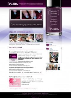 elitnails.hu weboldal készítés