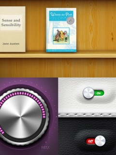 apple szkeuomorf weboldal készítés